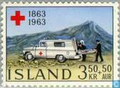 Postage Stamps - Iceland - 100 years of Red Cross