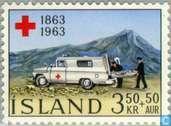 Timbres-poste - Islande - 100 ans de la Croix Rouge
