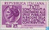 Postage Stamps - Italy [ITA] - Fair tax payment