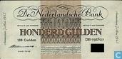 Billets de banque - Geldzuivering Nederland - 100 florins néerlandais 1945