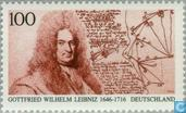 Postage Stamps - Germany, Federal Republic [DEU] - Gottfried Wilhelm Leibniz