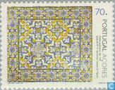 Briefmarken - Azoren - Fliesen