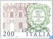 Postage Stamps - Italy [ITA] - State Council 150 years