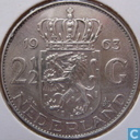 Monnaies - Pays-Bas - Pays Bas 2½ gulden 1963