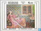 Postage Stamps - France [FRA] - Painting Balthus