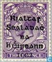 Postage Stamps - Ireland - Overprint