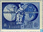 Postage Stamps - Belgium [BEL] - 75 years of UPU