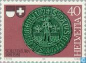 Postage Stamps - Switzerland [CHE] - Freiburg and Solothurn 500 years