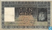 Banknotes - Paintings Nederland - 10 guilder Netherlands 1939