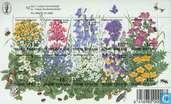 Postzegels - Finland - Weidebloemen