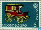 Timbres-poste - Luxembourg - Europe – Histoire postale