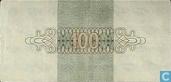 Banknotes - Geldzuivering Nederland - 100 guilder Netherlands 1945