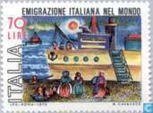 Postage Stamps - Italy [ITA] - Emigration