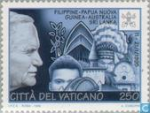 The world travels of Pope John Paul II