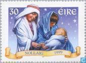 Timbres-poste - Irlande - Scènes bibliques