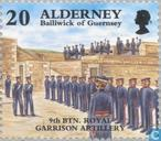 Postage Stamps - Alderney - Historical development
