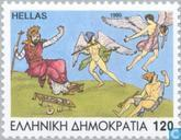 Postzegels - Griekenland - Griekse mythologie