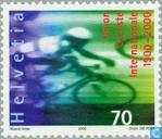 Postage Stamps - Switzerland [CHE] - Int 100 years. Cycling Union