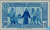 Postage Stamps - Italy [ITA] - Anthony of Padua