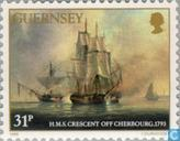 Briefmarken - Guernsey - Saumarez, James Admiral Lord 1757-1836