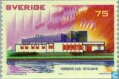 Postzegels - Zweden [SWE] - Nordic House, Reykjavik