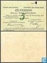 Bankbiljetten - Zilverbon Nederland - 5 Gulden Nederland 1914
