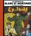 Strips - Blake en Mortimer - Les mémoires de Blake et Mortimer - Un opéra de papier
