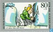 Postage Stamps - Berlin - Max und Moritz