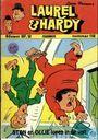 Bandes dessinées - Laurel et Hardy - Stan en Ollie lopen in de val!