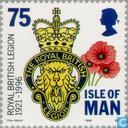 Postage Stamps - Man - British Legion 1921-1996