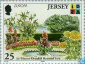 Briefmarken - Jersey - Europa -  Natur- und Nationalparks