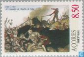 Postage Stamps - Azores - 400 years battle of Salga