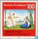 Postzegels - Duitsland, Bondsrepubliek [DEU] - Sorbische Sagen