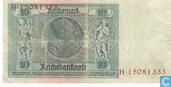 Banknotes - Reichsbanknote - Germany 10 Reichsmark