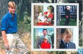 Postage Stamps - Gibraltar - 18th birthday of Prince William