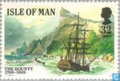 Briefmarken - Man - Bounty Meuterei 1789-1989