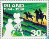 Timbres-poste - Islande - Arts et Culture