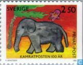 Postage Stamps - Sweden [SWE] - 100 years children's newspaper