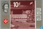 Timbres-poste - Malte - Histoire
