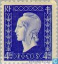 Postage Stamps - France [FRA] - Marianne (type Dulac)