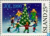 Postage Stamps - Iceland - Children