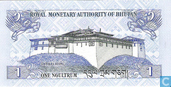 Bankbiljetten - Royal Monetary Authority of Bhutan - Bhutan 1 Ngultrum