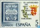 Postage Stamps - Spain [ESP] - 50 years Barcelona expostion Stamp