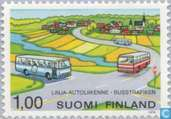 Postage Stamps - Finland - Bus and coach transport