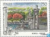 Postage Stamps - Italy [ITA] - Gardens