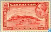 Postzegels - Gibraltar - Landschap