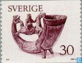 Postage Stamps - Sweden [SWE] - Drinking horn