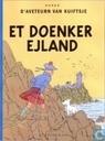 Bandes dessinées - Tintin - Et Doenker Ejland
