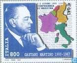Postage Stamps - Italy [ITA] - Gaetano Martino