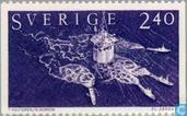 Postzegels - Zweden [SWE] - 240 blauw